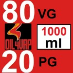 BASE-80VG20PG-1000ML-OIL4VAP